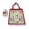 Highland Cow Folding Shopping Bag (T45HC)