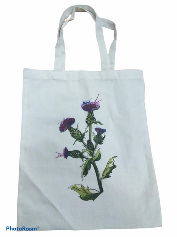 Wild Thistle Cotton Shopper Bag (WTBAG)