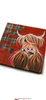 McMoo Highland Cow Paper Napkins