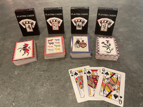 Playing cards Multi pack (4)
