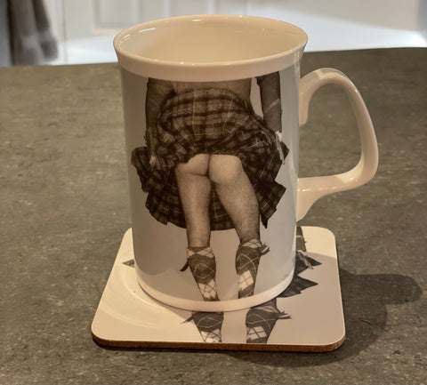 Highland Swing Mug and Coaster Set