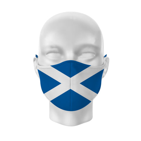 Face mask Saltire flag