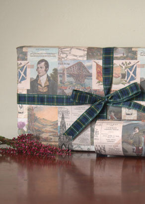Vintage Scotland Wrapping Paper - Poster (2 pieces)