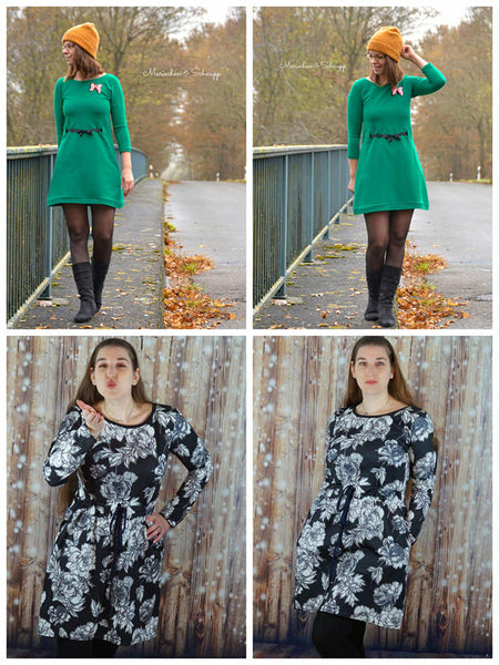 "Kleid ""November Rain"" (Schnittmuster/Ebook)"
