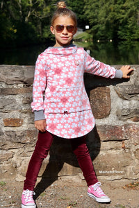 "Longpulli ""SugarHoodie Lollipop"" Gr. 62-176 (Schnittmuster/Ebook)"