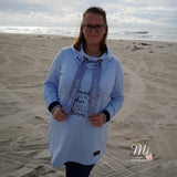 "Longpulli ""SugarHoodie Kids/Lady"" Kombi (Schnittmuster/Ebook)"