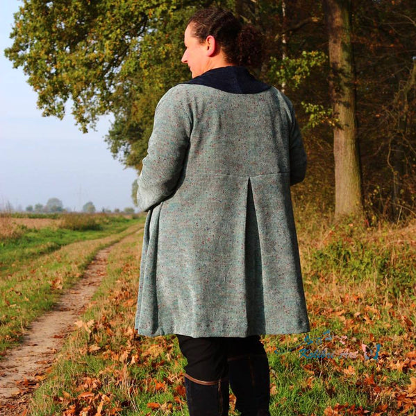 "Cardigan ""Autumn Curves"" PlusSize (Schnittmuster/Ebook)"