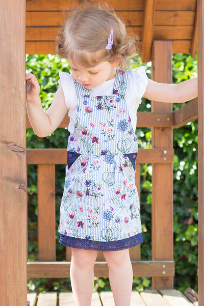 "Kinder Latzkleid ""LATZZY.DRESS"" (Schnittmuster/Ebook)"