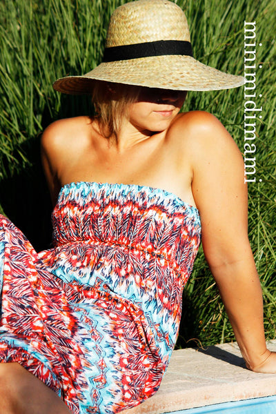 "Sommerkleid / Tunika ""LEXXI LADIES"" (Schnittmuster/Ebook)"