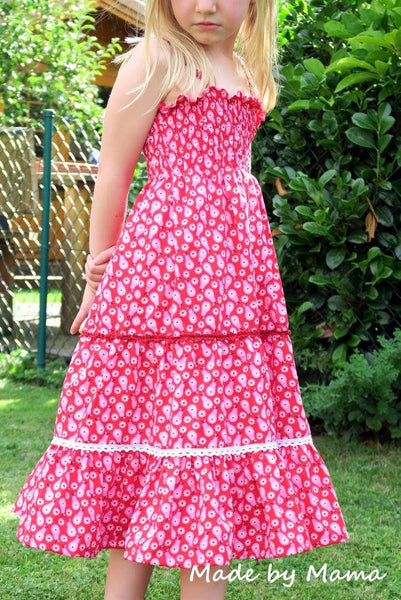 "Sommerkleid / Tunika ""LEXXI GIRLS"" (Schnittmuster/Ebook)"