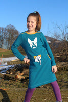 "Sweatkleid ""CARLI KIDS"" (Schnittmuster/Ebook)"