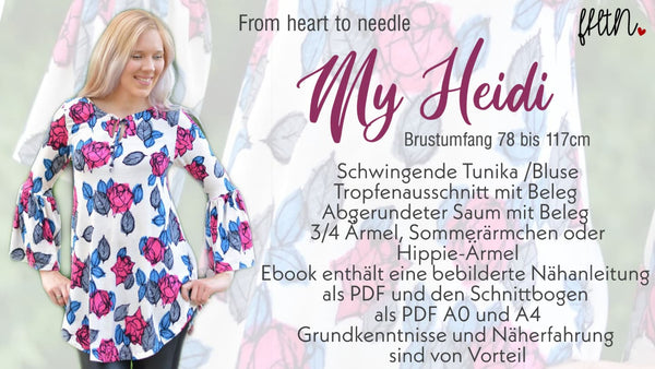 "Tunika ""My Heidi"" (Schnittmuster/Ebook)"