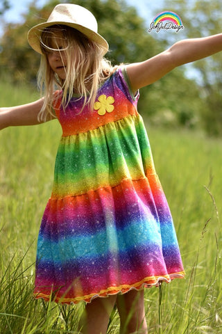 "Stufen-Kleid ""Firefly Dress"" (Schnittmuster/Ebook)"