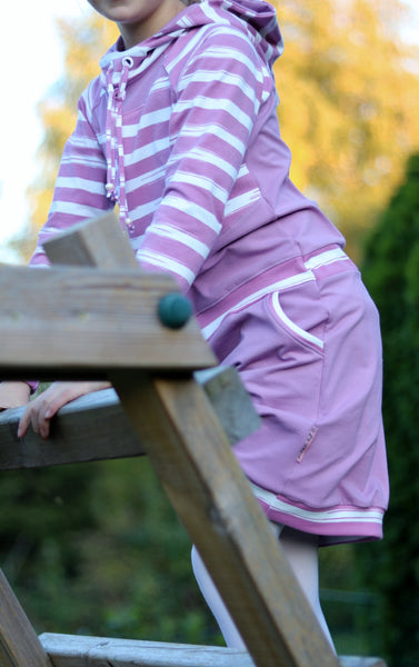 "Hoodie/Hoodiekleid ""mini JULIETA"" Gr. 86/92 – 158/164 (Schnittmuster/Ebook)"