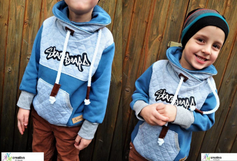 "Kinderhoodie ""MINI JOLINE"" (Schnittmuster/Ebook)"