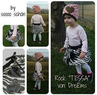"Kinder Rock ""TESSA"" (Schnittmuster/Ebook)"
