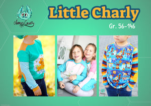 "Shirt ""Little Charly"" Gr. 56-146 (Schnittmuster/Ebook)"