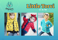 "Kinder Cardigan ""Little Torvi"" (Schnittmuster/Ebook)"