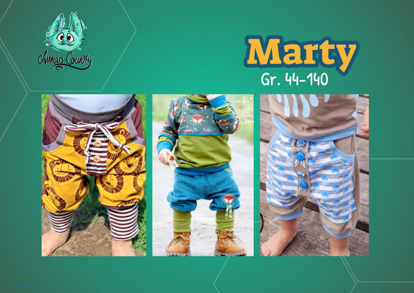 "Kinderhose ""Marty"" (Schnittmuster/Ebook)"