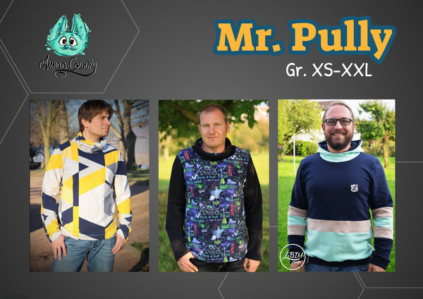 "Herren Pullover ""Mr. Pully"" (Schnittmuster/Ebook)"