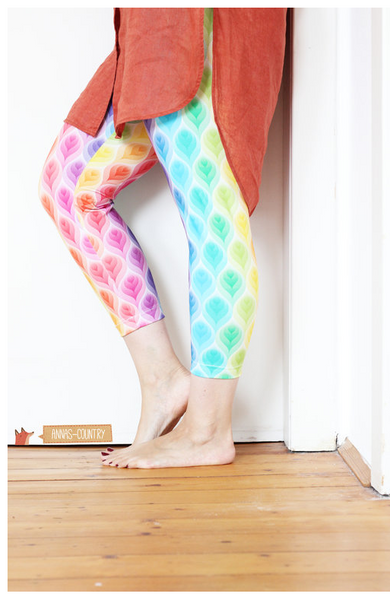"Damen Leggings ""Mrs. Leggi"" (Schnittmuster/Ebook)"
