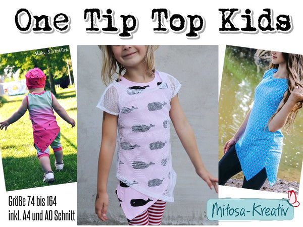 "Kinder Top ""One Tip"" 74-164 (Schnittmuster/Ebook)"