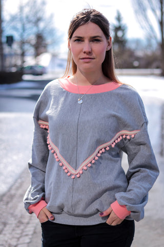 "Sweatshirt Damen ""India"" (Schnittmuster/Ebook)"