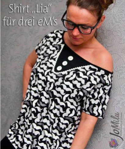 "Damen Shirt ""LIA"" (Schnittmuster/Ebook)"