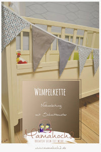 Wimpelkette (Schnittmuster/Freebook)