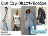 "Shirt Hoodie ""One Tip"" 34-52 (Schnittmuster/Ebook)"