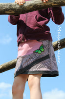 "Rock ""Shabby Asymmetrie Skirt"" 74-164 (Schnittmuster/Ebook)"