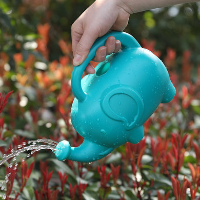 Home pouring cute cartoon elephant shape watering can / garden watering gardening tools