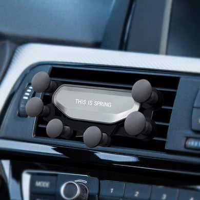 New car gravity sensor phone holder