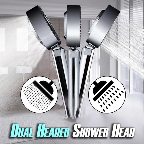 Dual Headed Shower Head(free shippping)