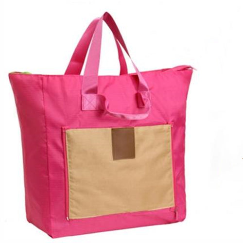 Simple folding waterproof large-capacity shopping bag