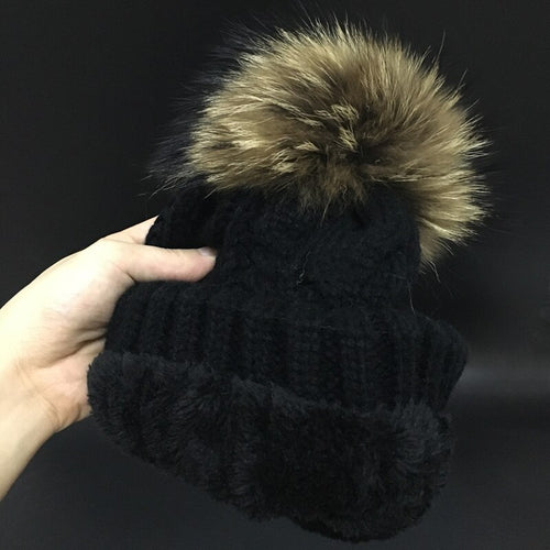 Women's velvet winter hat