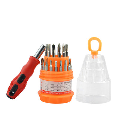 Multi-function combination screwdriver set