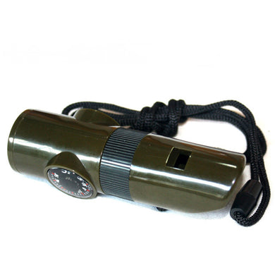 Outdoor camping rescue whistle
