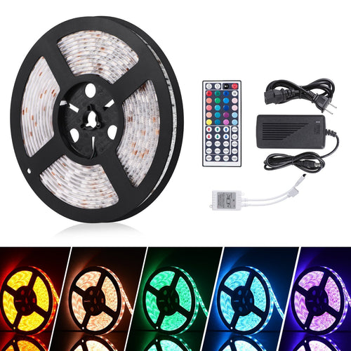 LED STRIP LIGHTS W/ REMOTE