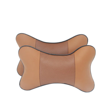 Car leather pillow