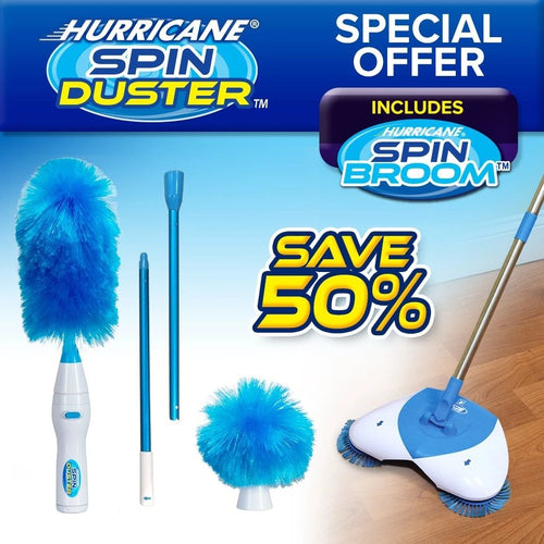 Hurricane Spin Duster-50% OFF