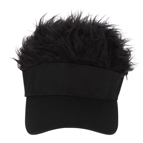 (Two free shopping)New Male & Female Universal Wig Baseball Cap