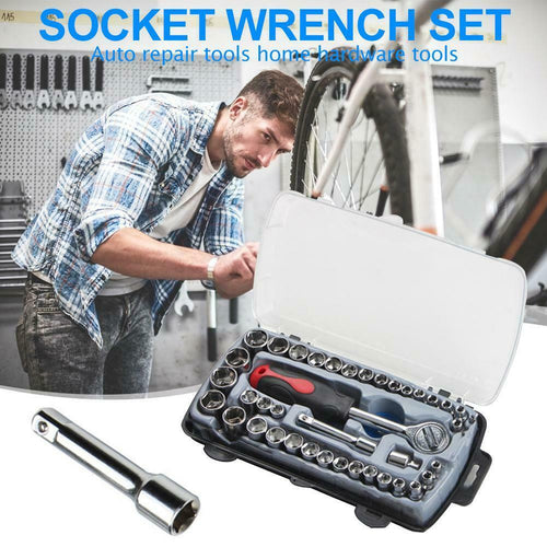 40pcs Socket Wrench Set Car Repair hand Tool