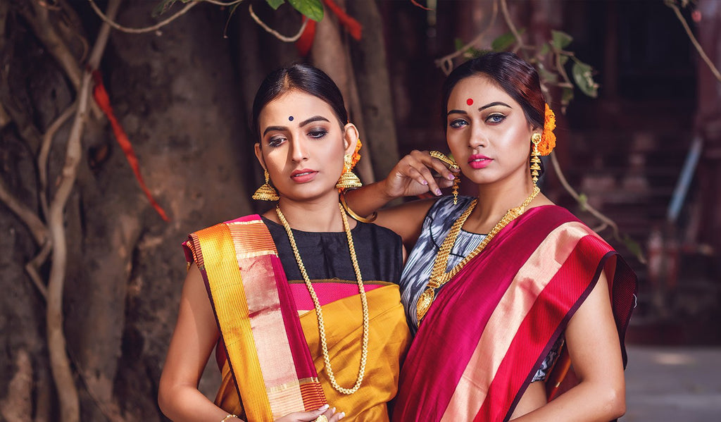 Wrapping Up: Which Sarees to Wear This Durga Puja?