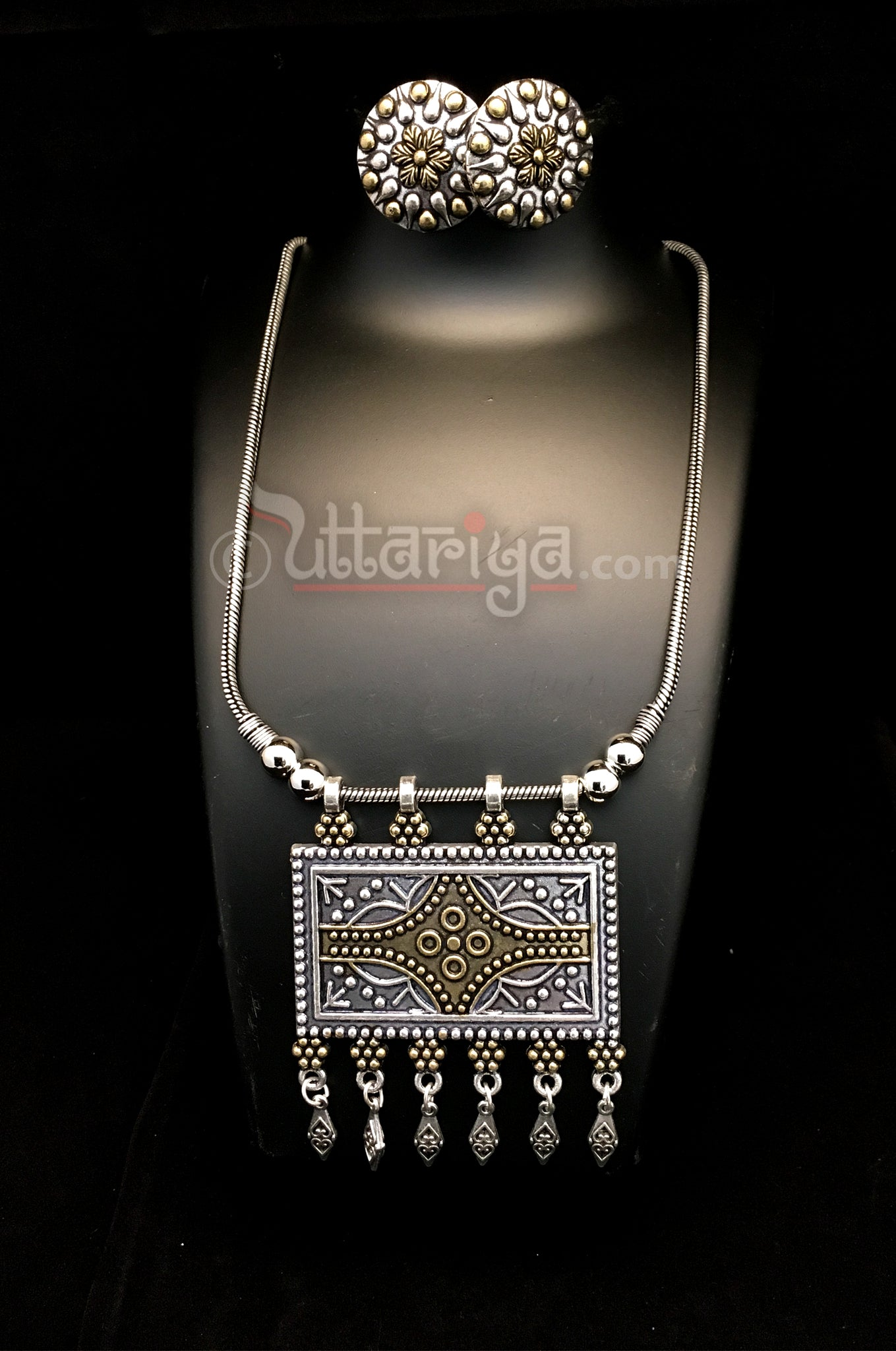 Old Monk Neck set - Uttariya