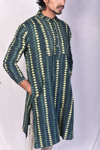 Forest Green Long Kurta