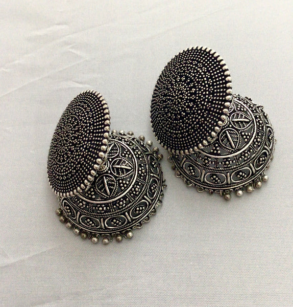 German silver Earring