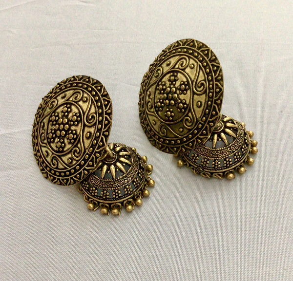 Gold German silver Earring