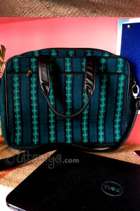 Deep Green Laptop Bag - Uttariya