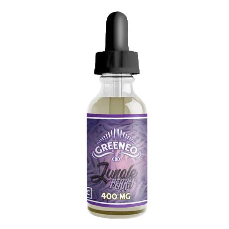 Jungle Berry Greeneo CBD E-liquide Greeneo